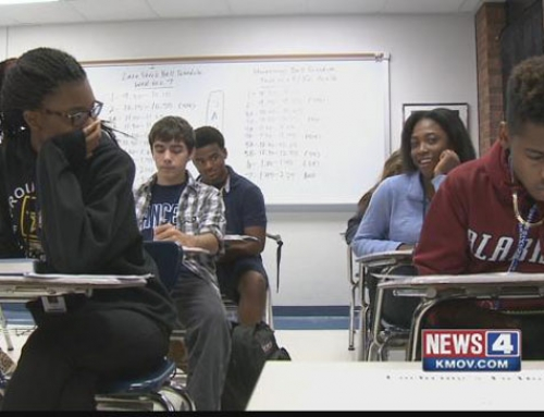 Students learn civic responsibility at Metro East school