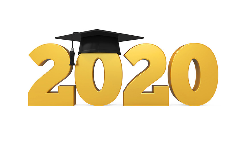 East and West 2020 Graduation Ceremonies